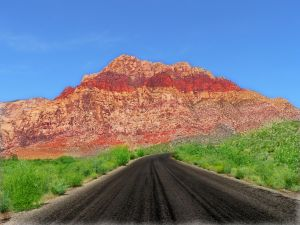 Red Rock Canyon, outside Las Vegas