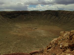 Barringer Crater near Flagstaff, Arizona
