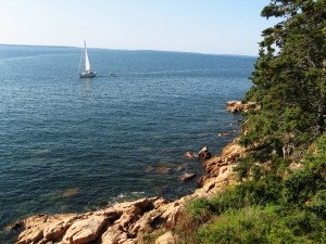 The enchanting Maine coastline