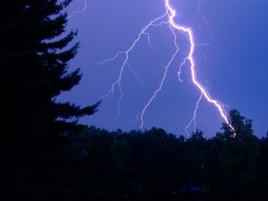 Lightning: Beautiful, deadly, and a real concern for hikers!