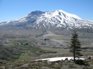 Mount St. Helens, in Washington state