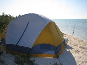 Does this Florida Keys tent look like home away from home?