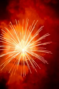 Brilliant fireworks and camping opportunities abound ...