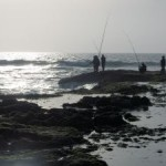 Fishing on the coast of Morocco ... Yes, Morocco!